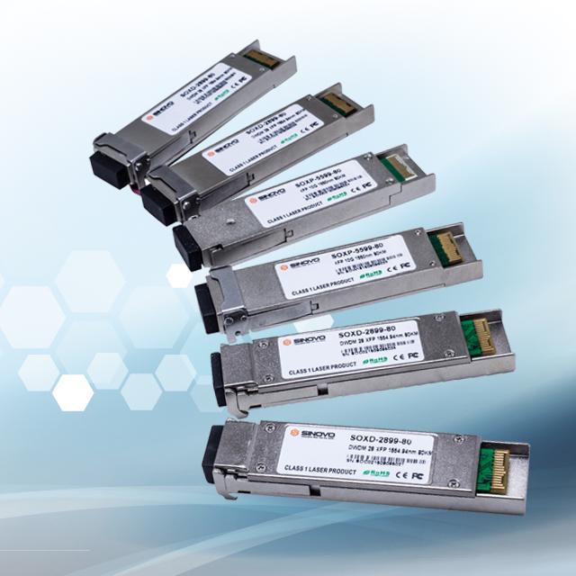 XFP CWDM 10G Modules